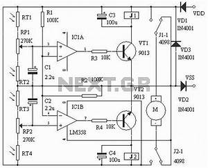 gt circuits gt solar controller charger regulator circuit With solar charge controller wiring diagram