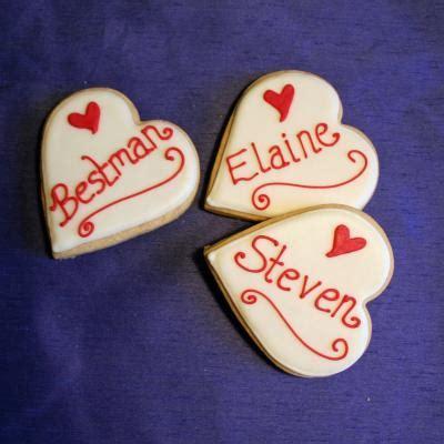 wedding cookies wedding cakes edinburgh scotland