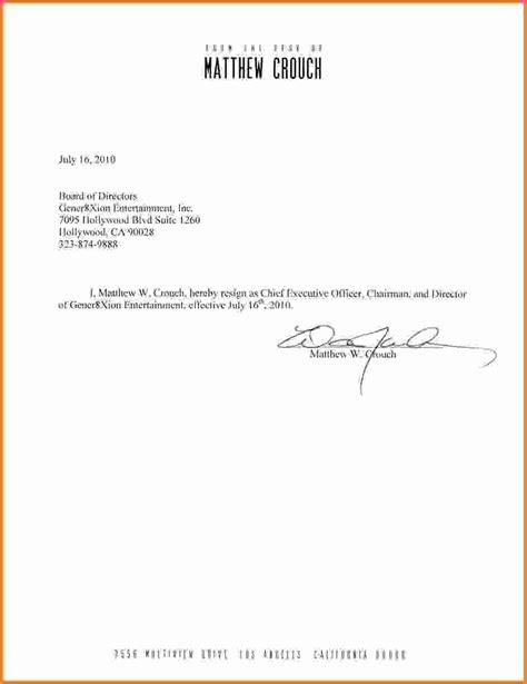 images  standard resignation letter template