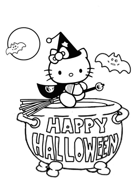 kitty witch coloring page   coloring pages