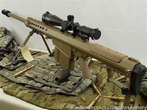 50 Bmg Suppressor by Barrett M107a1 29 Quot Fde 50 Bmg Qdl Suppressor 1600 00