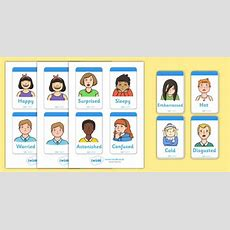 Emotion Flash Cards  Emotions, Feelings, All About Me, Ourselves, Feelings
