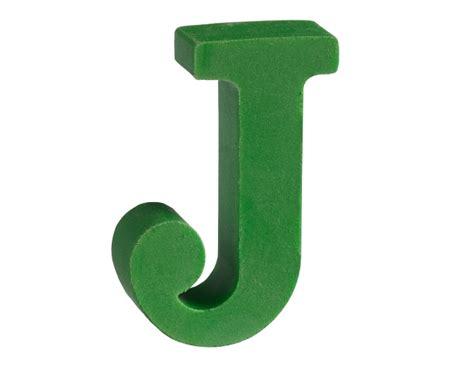 Letter J Eraser