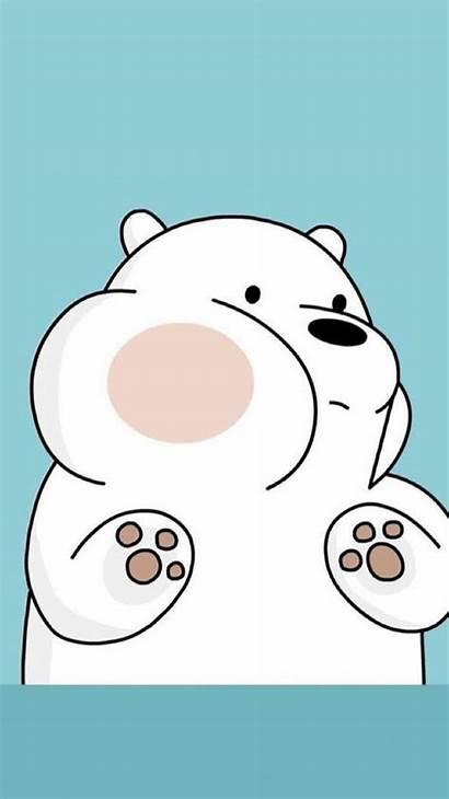 Bare Bears Bear Ice Iphone Kawaii Wallpapers