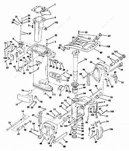 Evinrude 1988 30 - E30elcce  Midsection
