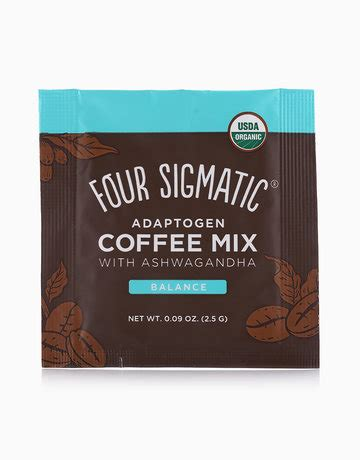 Four sigmatic has several coffee products. Adaptogen Coffee Mix (1 Sachet) by Four Sigmatic | BeautyMnl