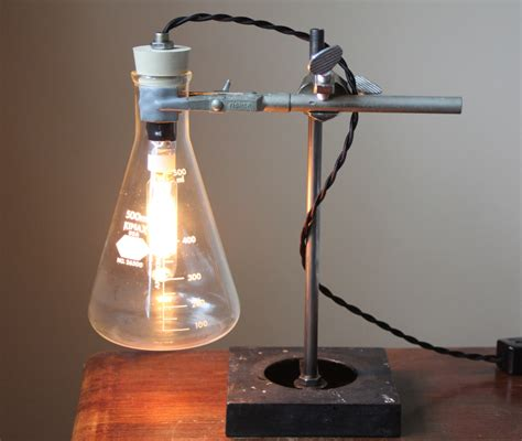 Science Lamp by Industrial Desk Lamp Science Lamp Steampunk Table Lamp Cool