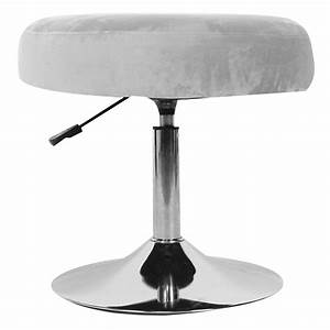 Doact, Modern, 360, Degree, Rotating, Adjustable, Round, Vanity, Stool, Chair, Furniture, For, Bathroom