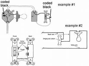 Standard Light Switch Wiring Diagram