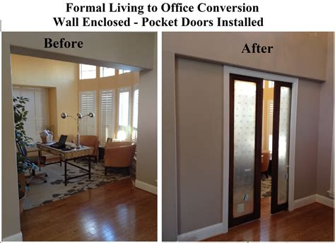 living room  office conversion vip services painting