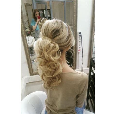 formal ponytail ideas  pinterest prom