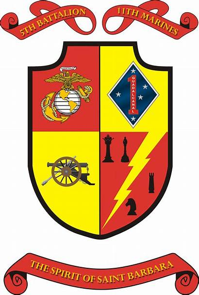 Battalion Insignia Marines 5th 11th Usmc Marine