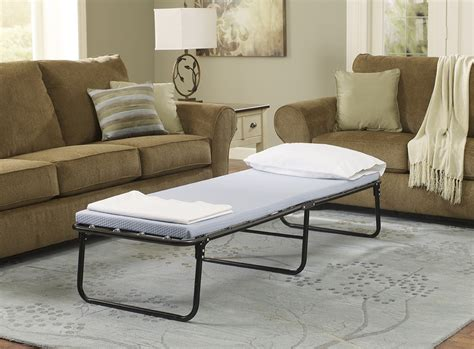Simmons Beautysleep Foldaway Guest Bed by Simmons 174 Beautysleep Foldaway Guest Bed With Memory Foam