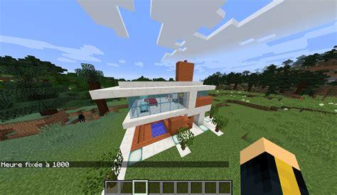 minecraft map maison moderne map une maison moderne tr 232 s minecraft