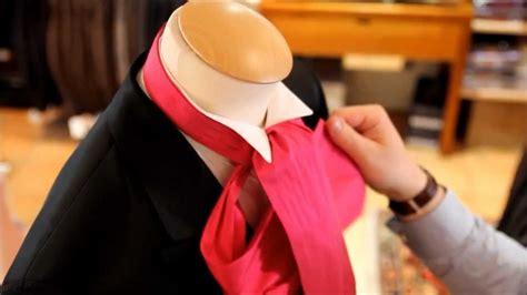 comment faire un noeud de chaise noeud de lavalliere noeud ascot comment faire un noeud