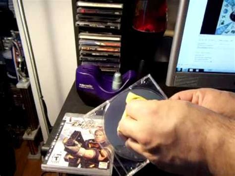 How To Clean Your Ps3 Game Disc & Bluray Movies Youtube