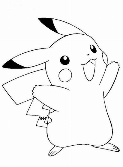 Pokemon Pikachu Coloring Pages Sheets