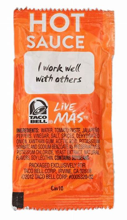 Bell Taco Sauce Packets Tacobell Giphy