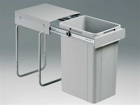 Einbau Abfalleimer by Wesco Single Maxi 757221 85 Einbau Abfallsammler