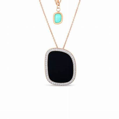 Jade Pendant Agate Diamonds Coin Gold Roberto