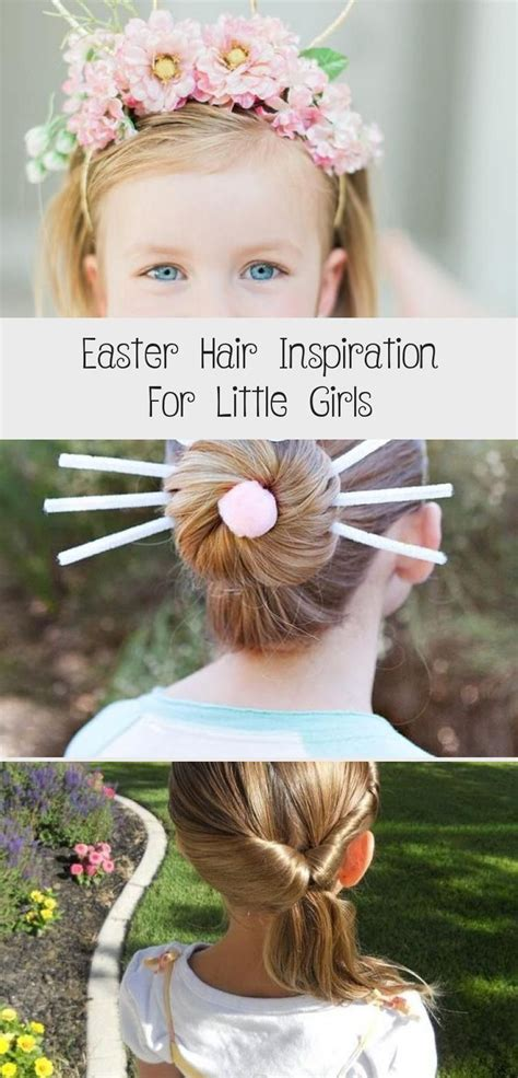 8 cute easter hairstyles for kids easy hair ideas for 8. Easter Hair Inspiration for Little Girls #babyhairstylesAfro #babyhairstylesForWedding # ...