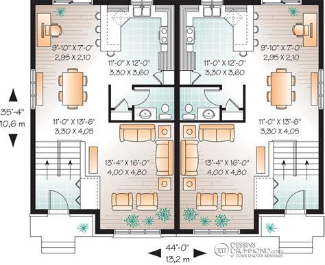 plan maison duplex moderne gratuit