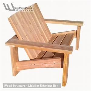 Banc De Jardin Bois : banc douglas banc de jardin wood structure ~ Dode.kayakingforconservation.com Idées de Décoration