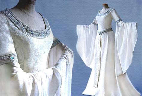 Elf Dress Wedding Dress T Lord Of The Rings Arwen