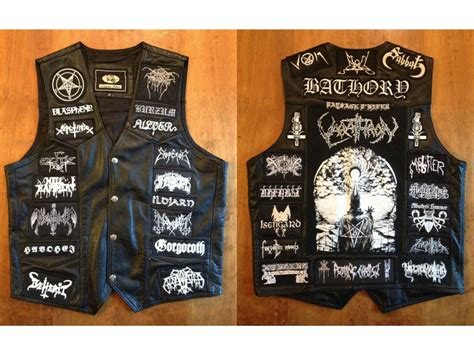 battle vests   kvlt tr   black metal patch