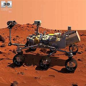 Curiosity Mars Rover 3d model - CGStudio