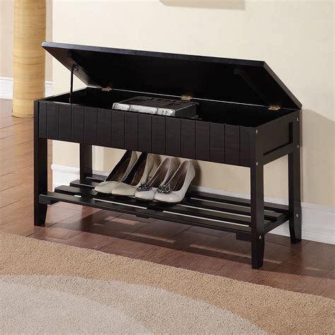 Shoe Entryway Bench by Storage Bench Shoe Rack Entryway Organizer Container Store