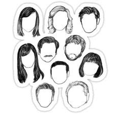 Parks and Recreation Red Bubble Stickers