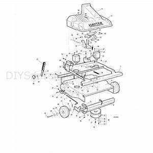 Hayter Condor  213p  Parts Diagram  Rotary Attachment 1