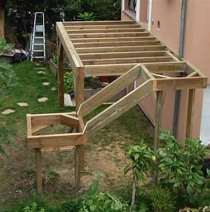 terrasse sur pilotis en teck maison isolation par With photo terrasse bois piscine 4 structure terrasse b wood