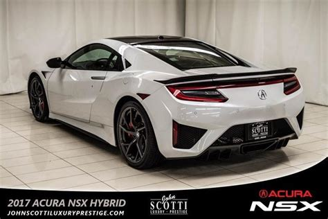 2017 acura nsx awd hybrid 52 000 in options courtesy for