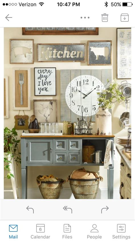 Decorating Ideas Kitchen Buffet by Wall Decor For Kitchen Mands Pete Farmhouse Kitchen