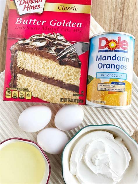 orange pineapple layer cake   family