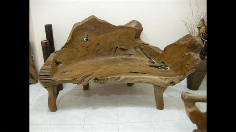 teak wood bench teak root bench teak slab furniture