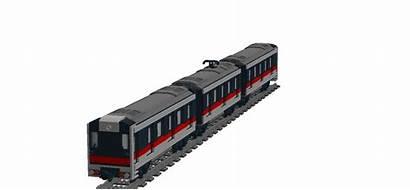 Train Metro Lego Transparent Door Slide