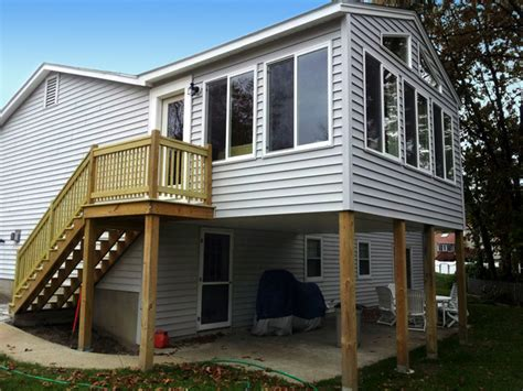 How Much Does An All Season Room Cost by Home Additions Dormer Additions Second Floor Additions