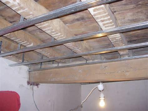 quel placo pour faux plafond isolation idees