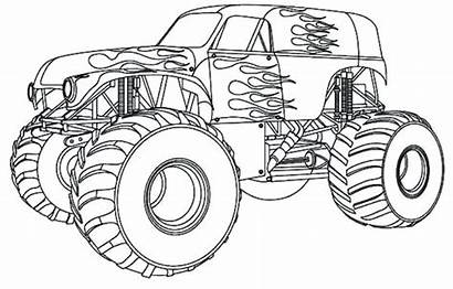Coloring Pages Truck Cool Trucks Printable Getcolorings