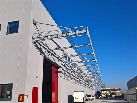 tettoie industriali realizzazione tettoie industriali soluzioni