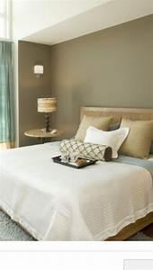 Khaki, Walls, In, Master, Bedroom
