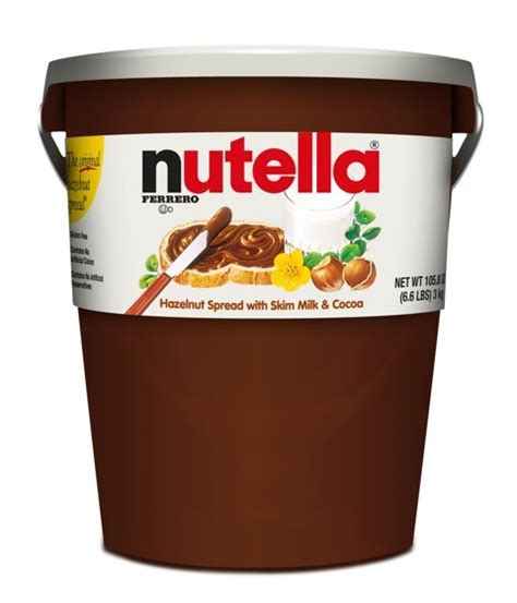 nutella 3 kg bulk wholesale italian food