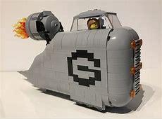 Lego Despicable Me Gru Car THE LEGO CAR BLOG