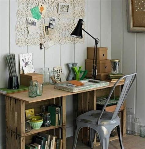 fabriquer un bureau avec des palettes fabriquer un bureau en palette dootdadoo com idées de