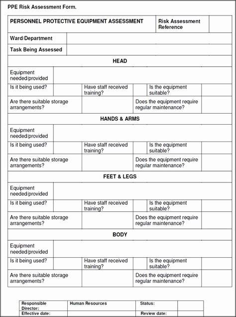 risk assessment checklist template sampletemplatess