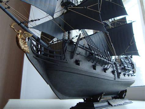 Black Pearl Pirate Ship Model In Scale 1 72