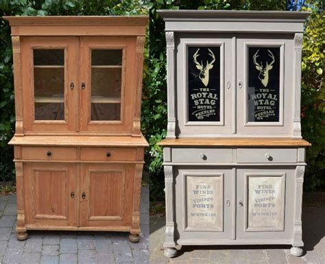 Antique Chalk Paint Cabinets Art Decor Homes Kitchen With An Island Design White Cabinets Brown Walls Retro Small Lighting Ideas Pictures 6 Home Decorating For Kitchens Flat Screen Tv Photos